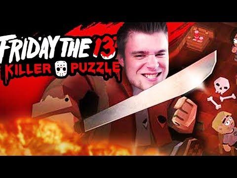 TAKA MAŁA MASAKRA W PIĄTEK TRZYNASTEGO! | Friday The 13th: Killer Puzzle [#1]