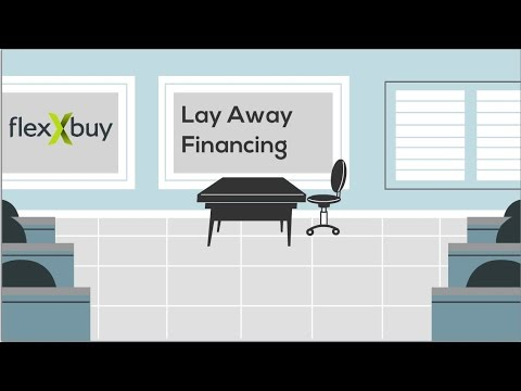 Flexxbuy Lay Away Financing