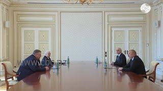 Президент Азербайджана принял вице премьера РФ