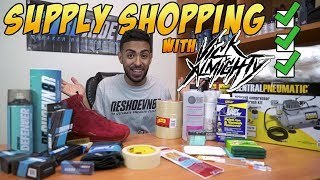 Shopping for Supplies with Vick Almighty