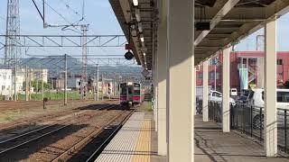 奥羽本線701系0番台秋アキN19編成普通弘前行き1663M終点弘前到着