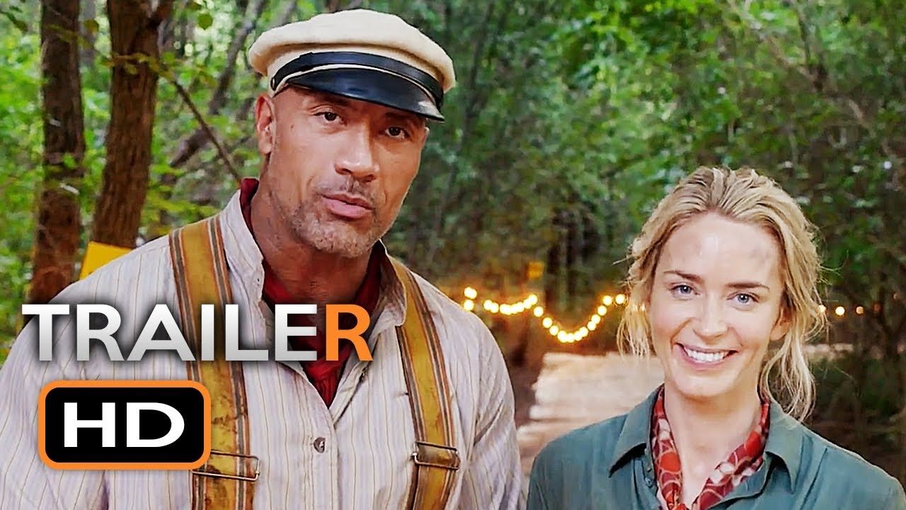 JUNGLE CRUISE Teaser Trailer (2019) Dwayne Johnson, Emily Blunt Disney Movie HD