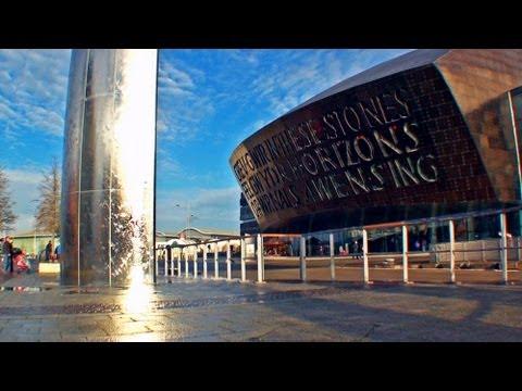 Cardiff, Visit Wales, United Kingdom UK / Wales travel / Turismo Gales /  City tour ciyscape tourism