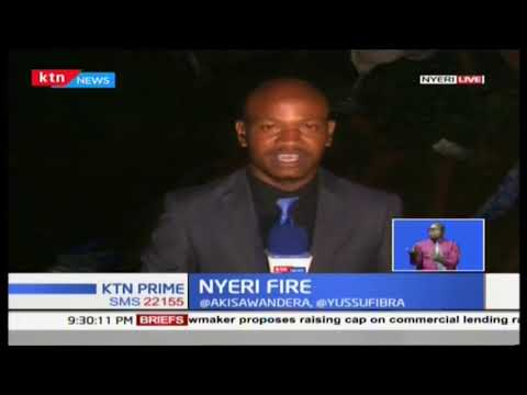 Investigations ongoing to what may have caused the Ngagarithi fire in Nyeri