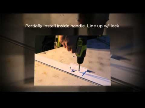 How To Build A Kd Super Heavy Duty Sliding Screen Door Youtube