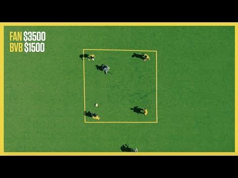 Borussia Dortmund's Rondo—Could You Break It Up? | B/R Rondo Challenge