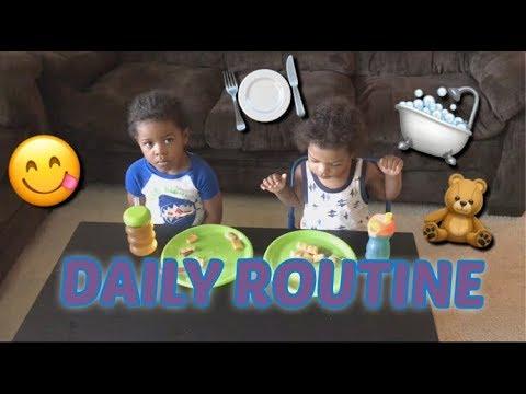 Seneca and Savez Daily Routine  KIDS RULE TV