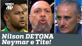 """""""É RIDÍCULO! PEDE PRA SAIR!"""" Narrador DÁ NO MEIO de Neymar e Tite após empate com Senegal!"""