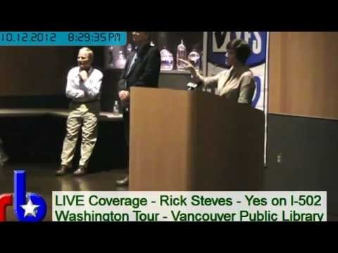 Rick Steves I-502 Tour in Vancouver