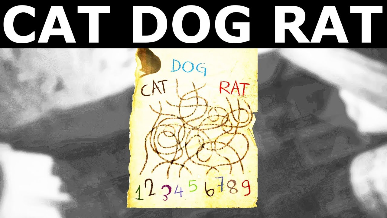 Layers Of Fear Cat Dog Rat