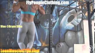 18 year old hot crossfit superstar suzanne svanevik is a beast in the gym must see