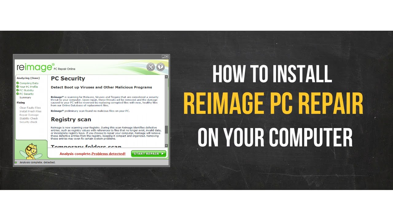 REIMAGE YOUR COMPUTER INSTALL A TELECHARGER PILOTE