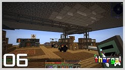 Let's Skyblock - Logistics Pipes storage and concrete automation - Journey across the void #06
