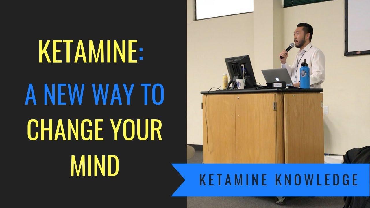 Ketamine Talk at the Arizona Psychedelics Conference February 2019