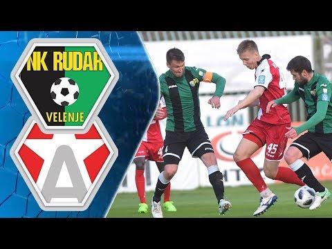 26. krog: Rudar - Aluminij 4:2 ; Prva liga Telekom Slovenije 2017/2018