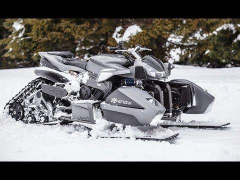 Самые Удивительные Новинки Снегоходов в Мире