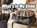 What's In My Blind Bag? | Hunting Boot Camp