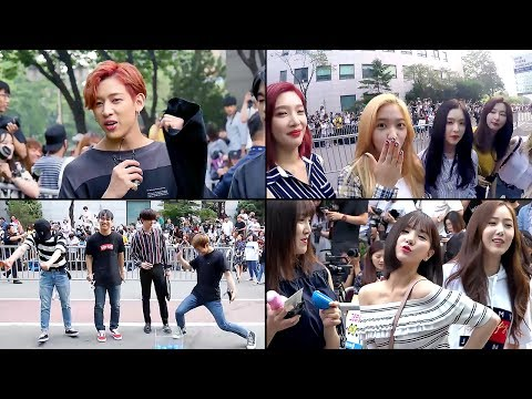On the way to MusicBank, Hwang Chiyeol, etc [KBS World Idol Show K-RUSH Live - Ep.18/2017.07.07]
