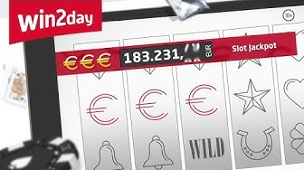 Slot €€€ Jackpot auf win2day – Tutorial