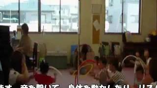 ピアノショップ沼津音楽教室で行われているリトミック教室、1歳児クラス...