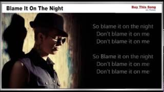 Blame It On The Night Lyrics   Calvin Harris   YouTube