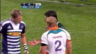 Stormers vs Cheetahs Awesome Fight Must Watch 2017 Video
