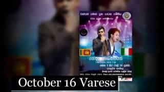 Nethra live show  Varese 16/10/2016