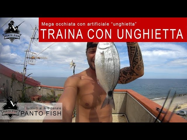 Kayak fishing - Traina con unghietta