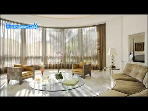 oturma odas perde modelleri 2014 youtube. Black Bedroom Furniture Sets. Home Design Ideas