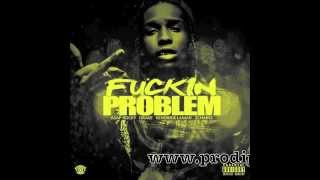 ASAP Rocky ft 2 Chainz Drake Kendrick Lamar - Fuckin Problem (Chopped By Perv)