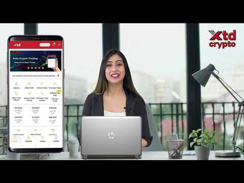 XTD Crypto Artificial Auto Trading Platform. Deposit and Start trade now.