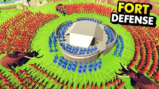 EVERY SINGLE UNIT vs NEW FORT DEFENSE IN TABS (Totally Accurate Battle Simulator Gameplay)