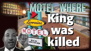 Martin Luther King Assassination At  Memphis' Lorraine Motel