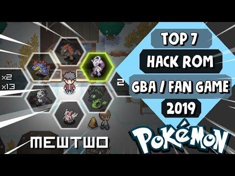 TOP 7 *MEJORES HACK ROMS (GBA) - FAN GAMES POKEMON* 2019!!
