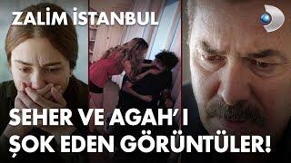 Seher ve Agah'ı şoke eden görüntüler! - Zalim İstanbul 14. Bölüm
