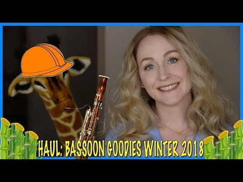 BUYING BASSOON GOODIES: WINTER 2018