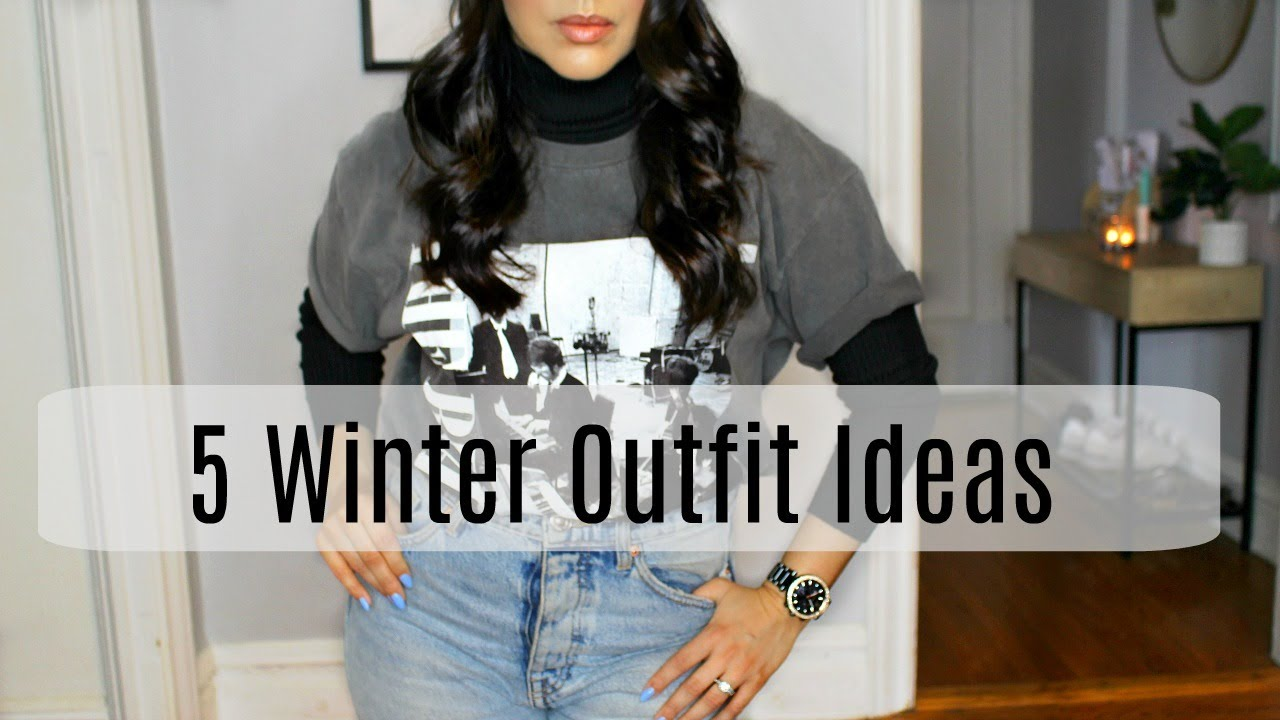 [VIDEO] - 5 Affordable Winter Outfits 8