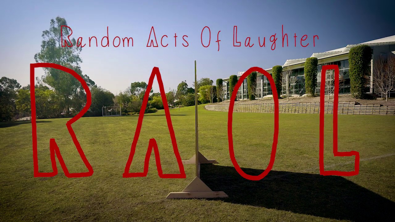 Random Acts Of Laughter Launch