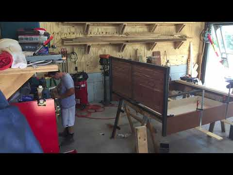 Industrial Bed Frame Project