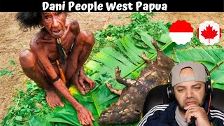 RARE TRIBAL FOOD of West Papua's Dani People!!! (Never Seen on Camera Before!!) - Reaction
