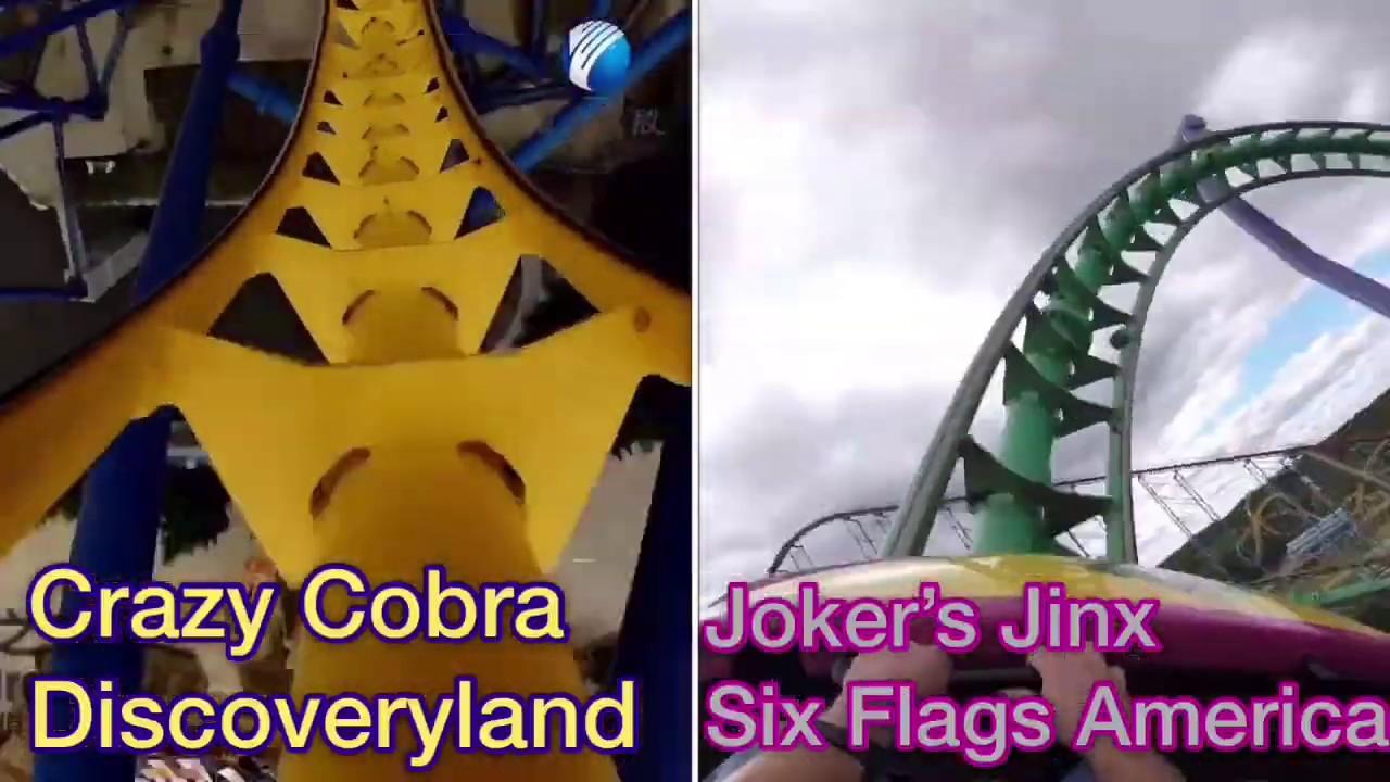 Crazy Cobra v.s. Joker's Jinx Spaghetti Bowl Coasters Compared