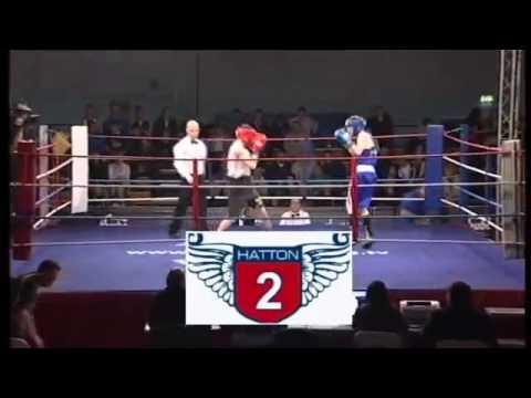Kyffin v Stuart 50kg Merseyside & Cheshire ABA v Scotland