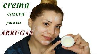 potente crema casera para quitar  las arrugas - crema antiarrugas | DIY  homemade wrinkles cream