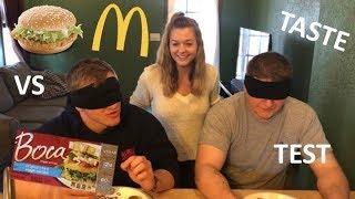 Vegan Taste Test- McChicken vs Boca Chik'n