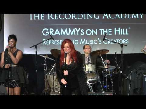 Martina McBride Introduces Wynonna Judd at Grammys on the Hill