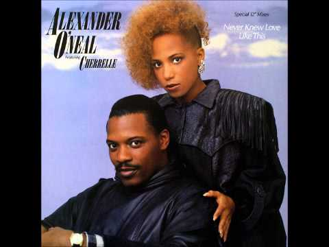 Alexander O'Neal Ft Cherelle - Never Knew Love Like This Before