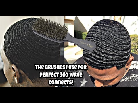 The Brushes i use to get the best 360 wave connections!!!!