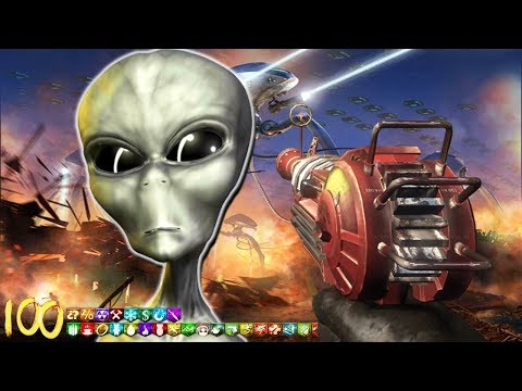 """INCREDIBLE """"ALIEN INVASION"""" ZOMBIES MAP!"""