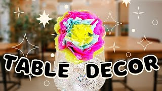 Table Decorations for When You're on a Budget