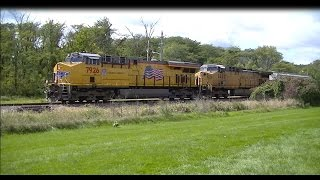 HD:Union Pacific Manifest on the Spine Line, Des Moines, IA